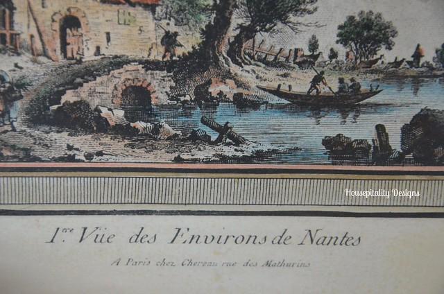 Vintage French Print-Housepitality Designs