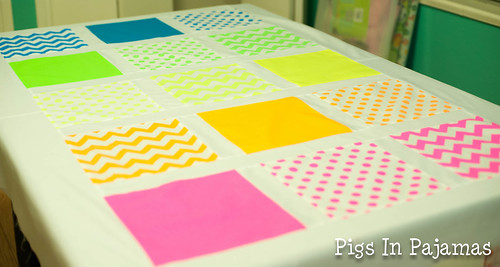 Neon quilt