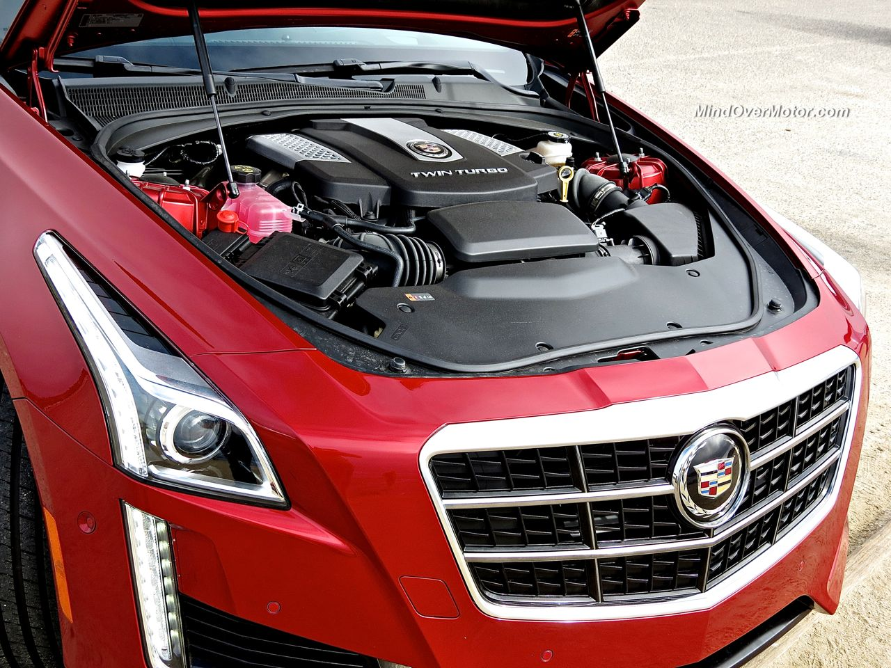 2015 Cadillac Cts Vsport Review Mind Over Motor
