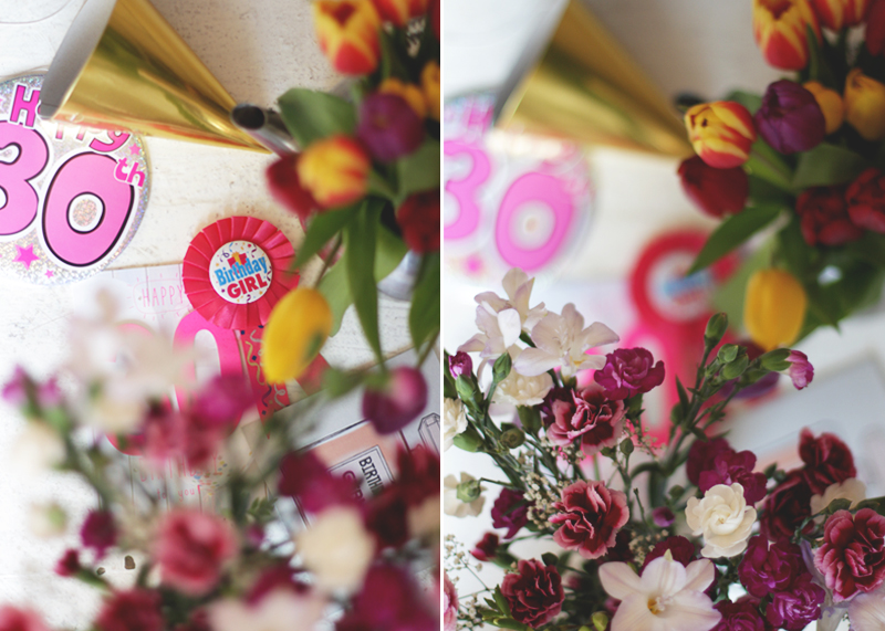 Photographing flowers, Bumpkin betty