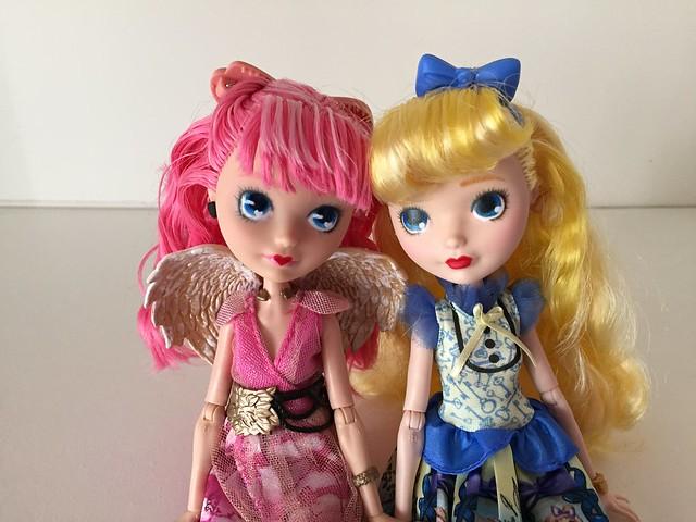 Cupid and Blondie