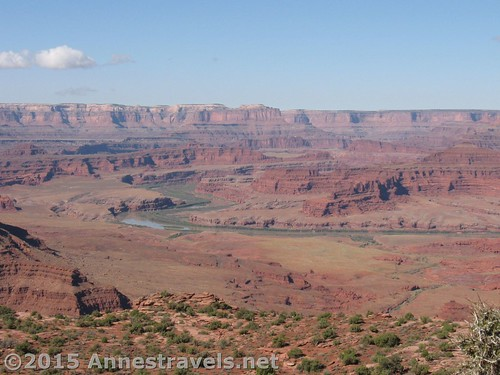Views from Miner Overlook, Canyon Rims Special Management Recreation Area, Utah