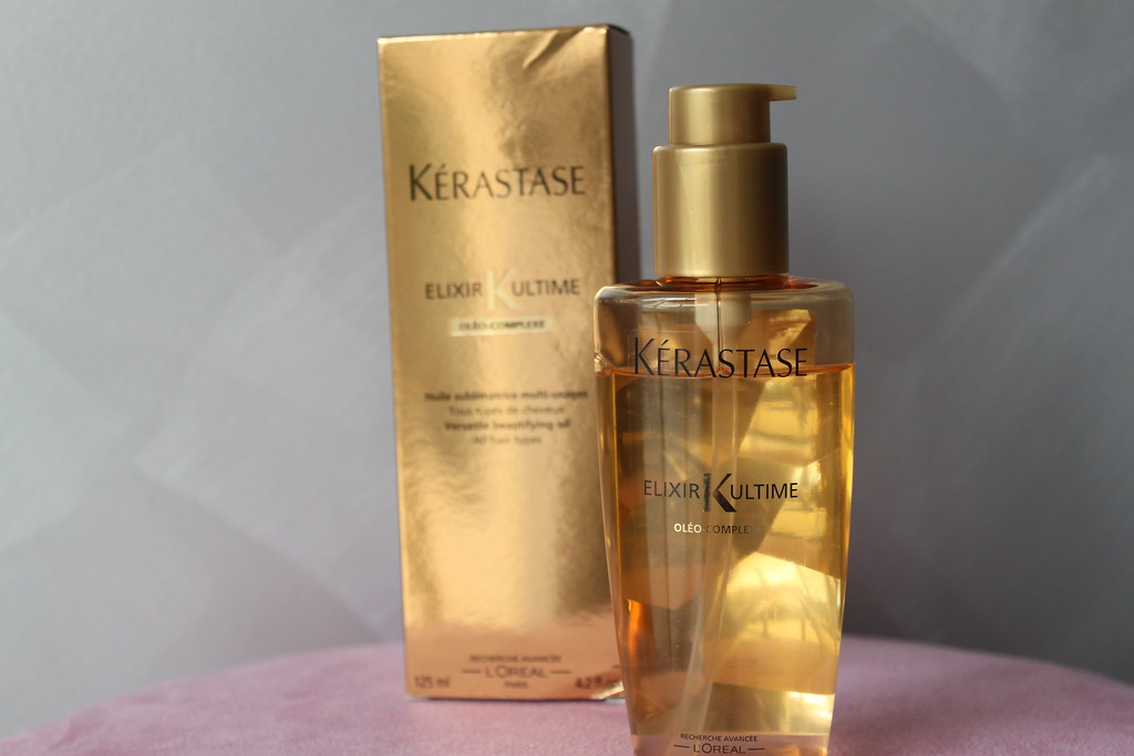 Kerastase elixr ultime salon beautifying luxury oil hair beautiful ausbeautyreview australian beauty review blog blogger gold (2)