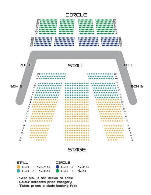 GOT7 1st Fan Meeting in Singapore Seating Plan sgXCLUSIVE
