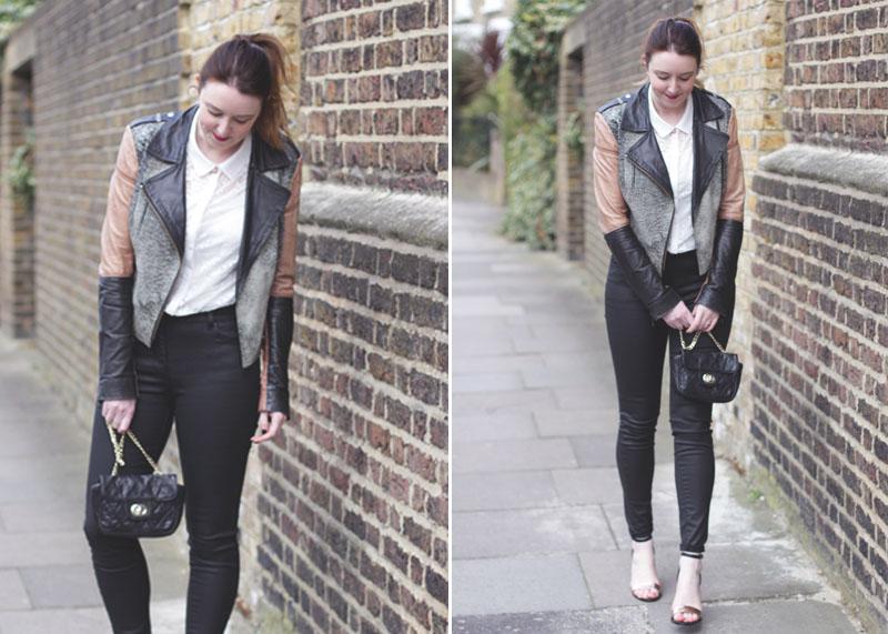 Leather Biker Jacket and Waxed Denim, Bumpkin Betty Scottish Lifestyle Blog