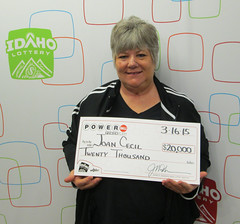 Joan Cecil - $20,000 Powerball
