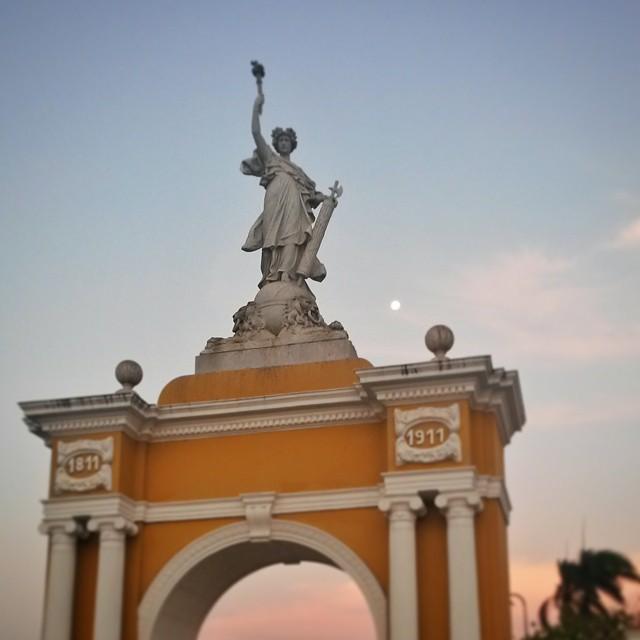 Parque Centenario, Cartagena, Kolumbia