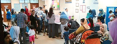 Dengue and flu cases on the rise