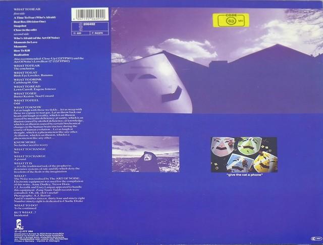 Art Of Noise Whos Afraid Of The Art Of Noise Alternative Pop 7