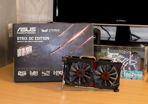 ASUS GeForce GTX 750 Ti Strix OC plokštės apžvalga
