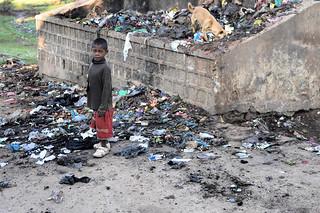 Garbage boy