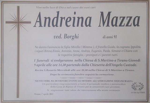 Mazza Andreina
