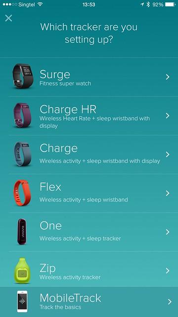 Fitbit iOS App - Setup #1
