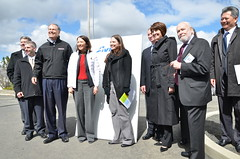 Sen. Cantwell and Rep. McMorris Rodgers joined Gov. Inslee for the ceremony