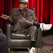 LMU School of Film & Television posted a photo:	Quincy Jones talks about growing up in the Southside of Chicago during the Great Depression. Photo by Juan Tallo