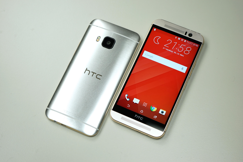 Silver HTC Phone