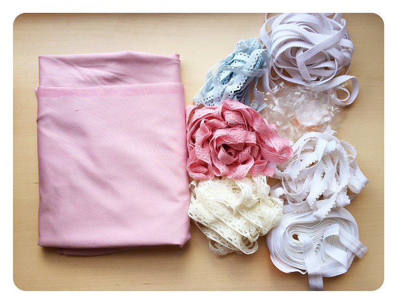 Lingerie fabric haul
