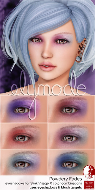 Powder Fades eyeshadows for Slink Visage