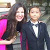 My favorite Thai 7-year old humors me sometimes. #BKK #PromDate