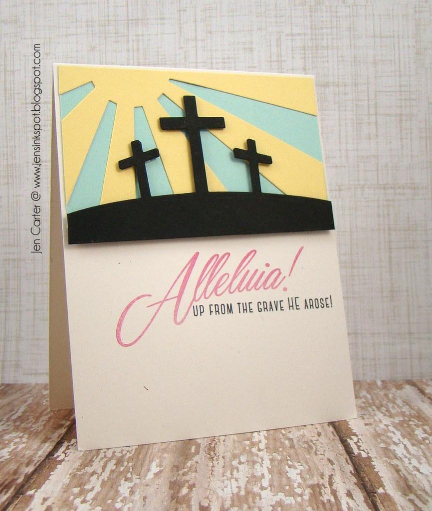 Jen Carter Alleluia Crosses
