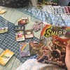 Playing Smash Up Pretty Pretty expansion with @lunatish86 :-)