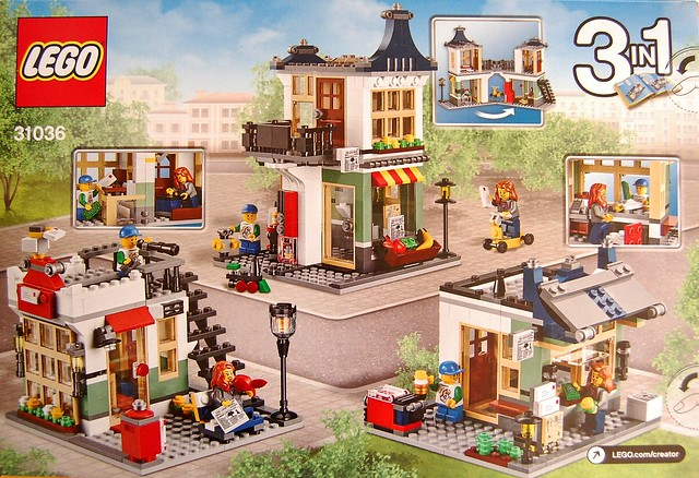 Review 31036 Toy And Grocery Shop Brickset Lego Set Guide And