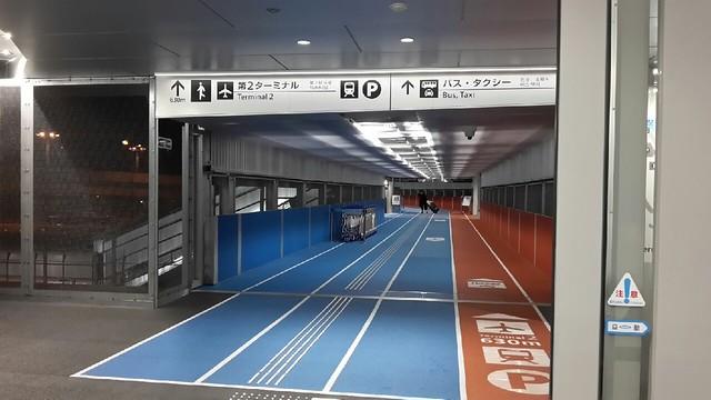 成田機場第三航廈二樓外通道