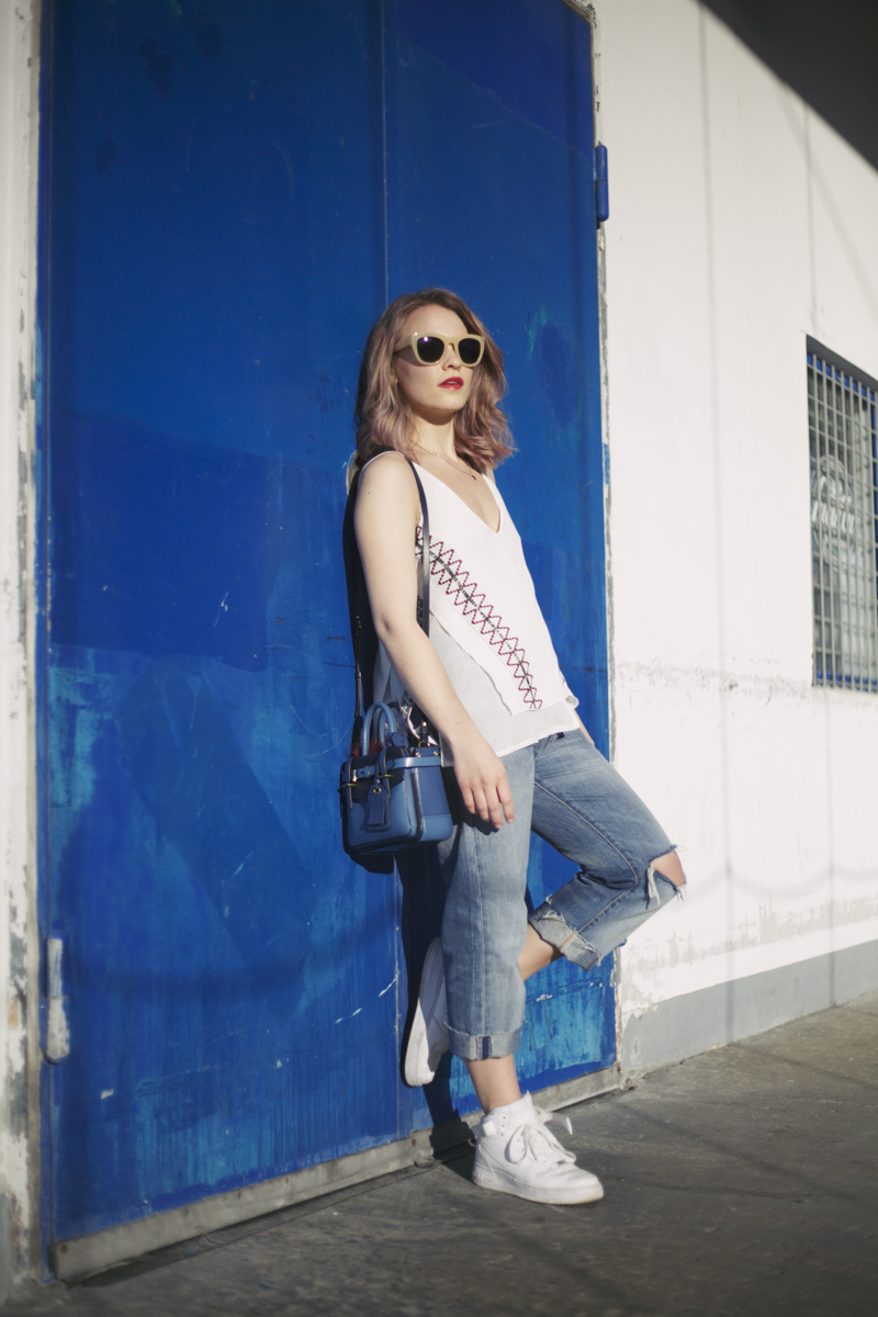 Zara strappy top