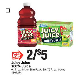 Stop&Shop - Juicy Juice