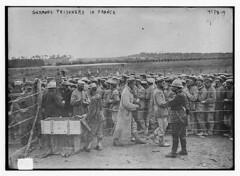 German prisoners in France (LOC)