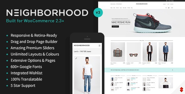 Neighborhood v3.4.60 - Responsive Multi-Purpose Shop Theme