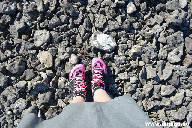 New Sneakers 2 - at the stony beach of Gotland - photo by Hanna Andersson aka iHanna, Sweden