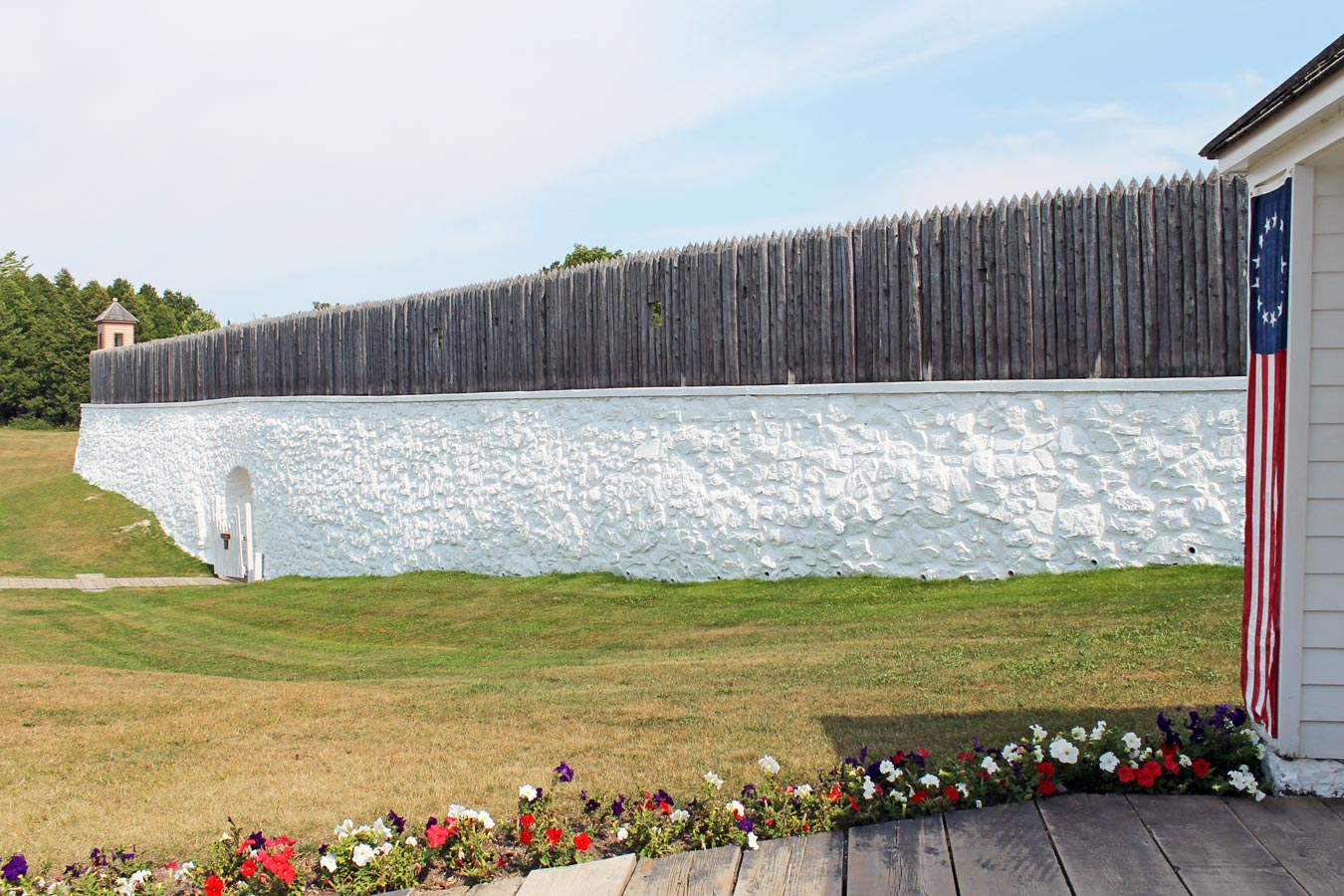 Fort Mackinac: Explore, Unwind, And Enjoy Breathtaking Views - [via Wading in Big Shoes]