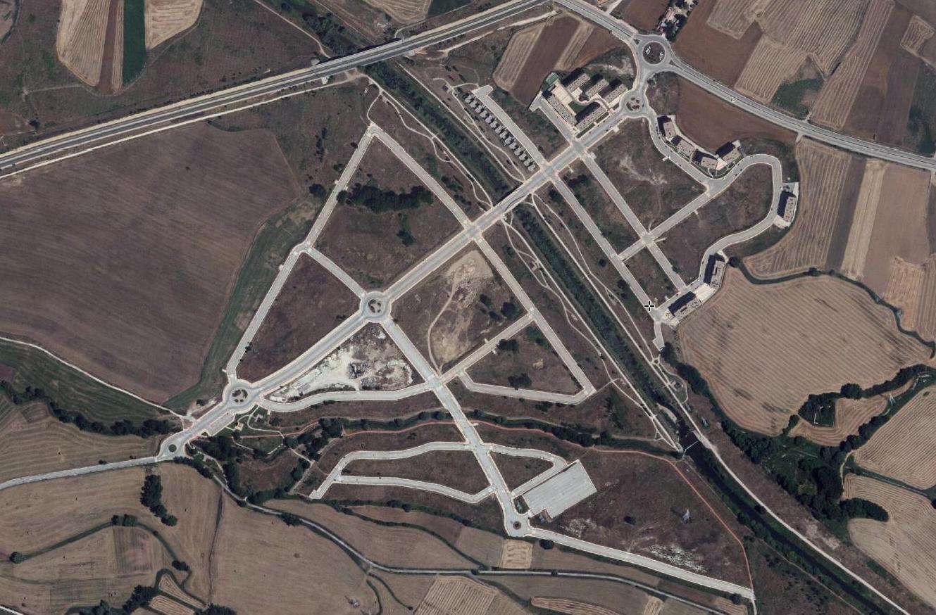 villalonquéjar, burgos, un puto puente arco, después, urbanismo, planeamiento, urbano, desastre, urbanístico, construcción, rotondas, carretera