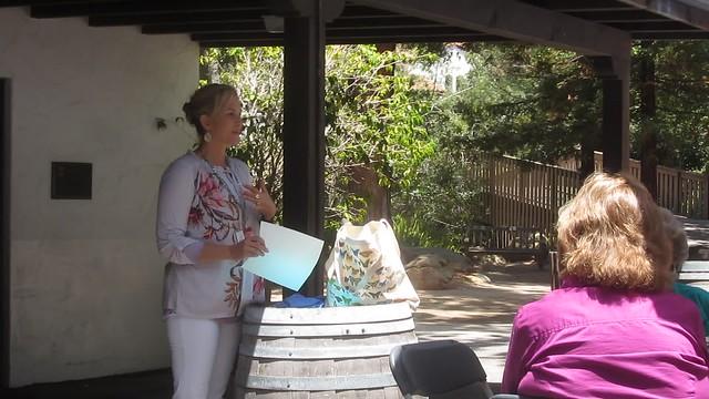 MVI_4392 SBMNH docent potluck Kristen awards