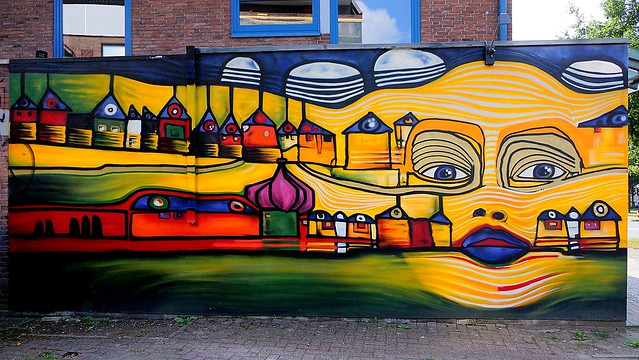 OLDENBURG - Graffiti, Street art at various locations ( street: Hauptstraße ) / 15th picture