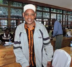 Yusuf Kingazi, model milk trader