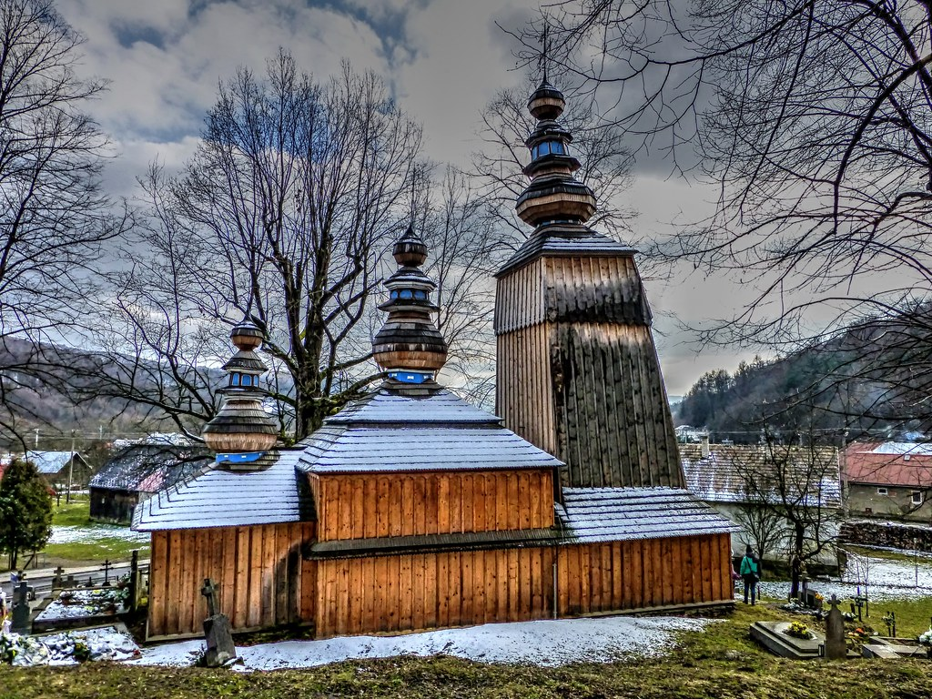 wooden church in hunkovce slovakia guide