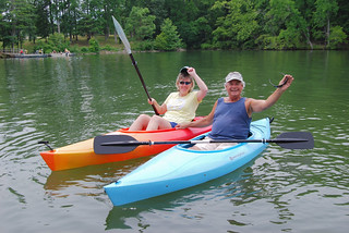 Father daughter kayaking at Claytor Lake State Park | by vastateparksstaff