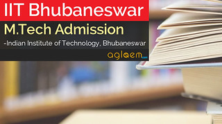 IIT Bhubaneswar M.Tech Admission 2016 - Application Form