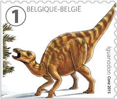 14 DINOSAURES timbre i