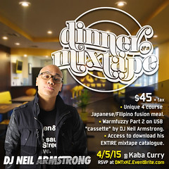 4/5 - Sunday - Dinner & A Mixtape comes to Las Vegas w/ Kaba Curry