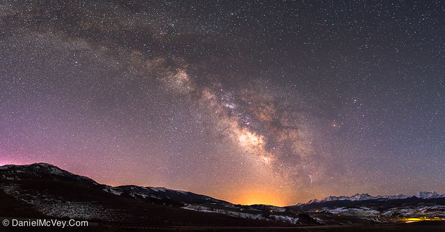 Milky Way over Middle Park