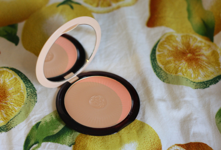 review and swatches: Guerlain terracotta joli teint powder duo bronzer