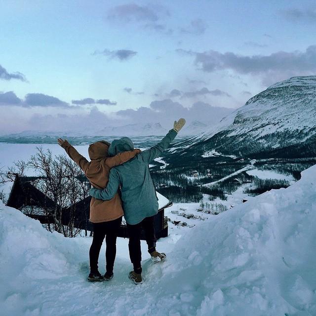 hello Sweden! 🗻 #WTDxWLP #visitsweden #riksgränsen...