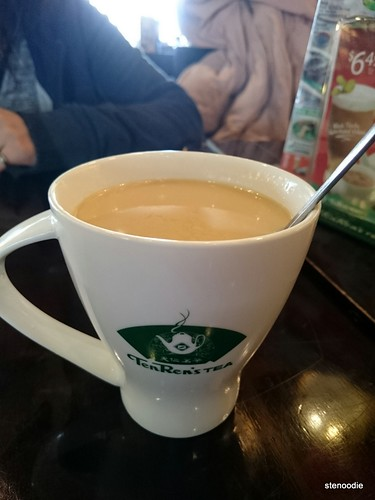 Hot Jasmine Milk Green Tea