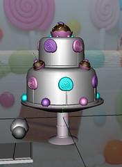 W.I.P. - Hazel & Maisie's Birthday Cake