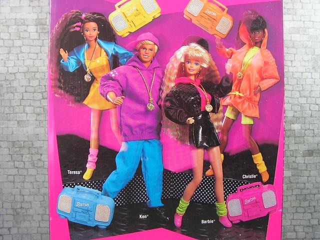 1991 Barbie Rappin' Rockin' (3)