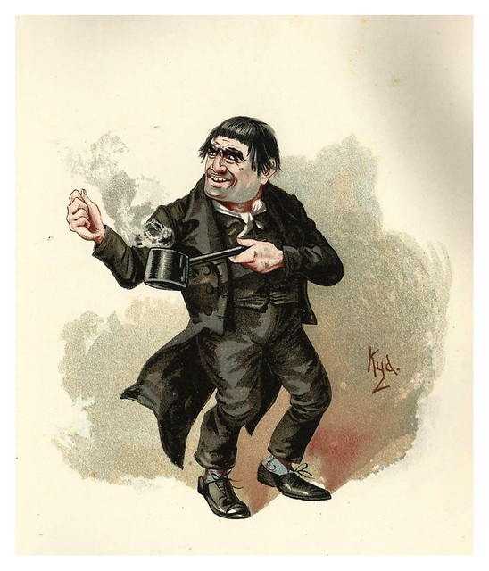 014-Quilp-Character Sketches from Charles Dickens…1889- J. Clayton Clarke- The Victorian Web
