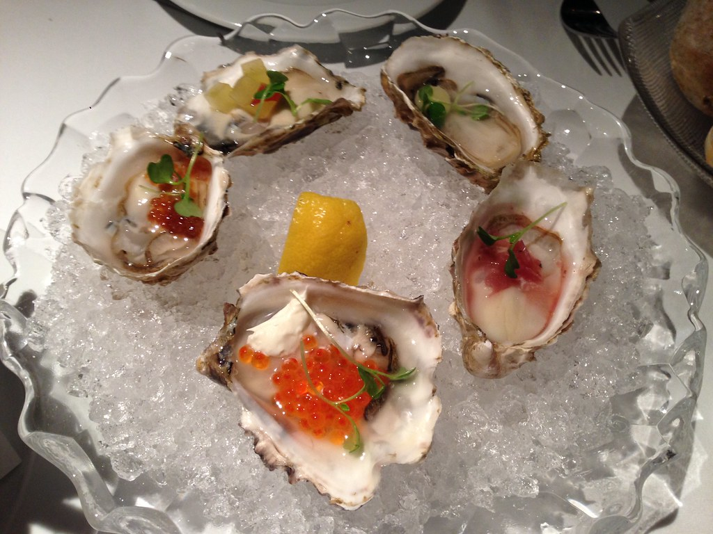 BC Oysters Five Ways